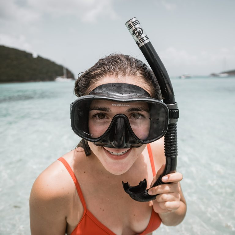 Valmiina snorklaamaan!