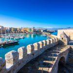 Näkymä Heraklion satamaan