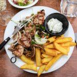 Kreikkalainen ruoka-annos