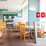 Aamiaisravintola tyhjänä