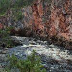 Kiutakönkään kuohuja Kuusamossa 📸Anne Nygård