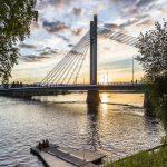 Jätkänkynttilän silta Rovaniemellä