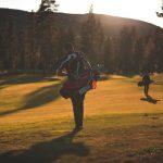 Golf kentät Levillä