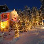 Luminen ulkokuva hotellista