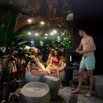 Kalev Span Sauna Oasiksessa on rentoutumistilaa