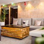 Haikko Spa -hoito-osaston aula