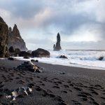 Reynisfjaran kuuluisa musta ranta
