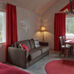 Santa Claus Holiday Village, Joulupukin lomakylä, Classic Cottages-huoneisto sisältä