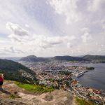 Bergen, näkymä Stoltzekleiveniltä