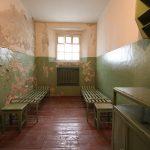 KGB:n aikainen selli museossa.