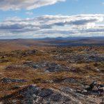 Kiilopään tunturin huipulla Urho Kekkosen kansallispuistossa