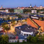 Näköala Telliskiviin ja Vanhaankaupunkiin Tallinnassa