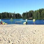 Ikaalinen Span uimaranta kesällä