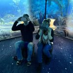Virtuaalilaseilla jääkausikeskuksessa