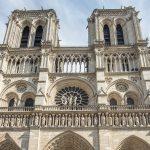 Notre Dame etualalta kuvattuna
