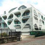 Aqva Spa vaaleanharmaa uusi päärakennus