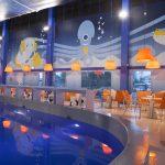 Viimsi Spa Istuimia altaan äärellä Atlantis H2O Aquapark