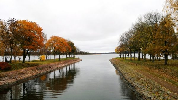 Lemströmin kanava, Ahvenanmaa