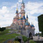 Prinsessa Ruususen linna Disneylandissa