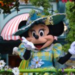 Minni Hiiri-hahmo Disneyland Pariisissa