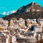Likavittos-kukkula Ateenan yllä