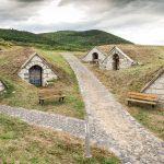 Perinteisiä viinikellareita Tokajissa, Unkarissa