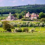 Burgundin alueen kaunista maaseutua, Ranska