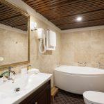 Kylpyhuone porammeella