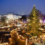 Tunnelmallinen Wienin joulutori
