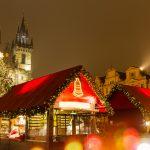 Joulutorin tunnelmaa Prahassa