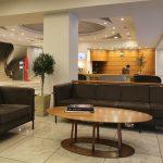 Palmyra Beach Hotellin aula ja vastaanotto, Glyfada, Kreikka