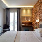 Superior huone sivuttaisella merinäköalalla Palmyra Beach Hotel, Glyfada, Kreikka