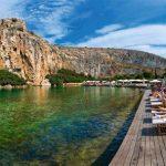 Vouliagmeni-järvi-Glyfada-Kreikka