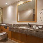 Superior-huoneen kylpyhuone, Central Athens Hotel, Kreikka