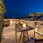 Kattoterassi, Central Athens Hotel, Kreikka