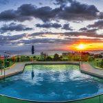 Uima-allas illalla, Emmantina Hotel, Glyfada, Kreikka