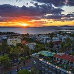 Ilmakuva hotellista ja ympäristöstä, Emmantina Hotel, Glyfada, Kreikka