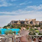 Kattoterassi, Arion Hotel, Ateena, Kreikka