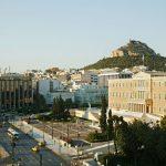 Näköala hotellilta, Amalia Hotel, Ateena, Kreikka
