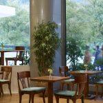 Lobby-aulan kahvila, Titania Hotel, Ateena, Kreikka